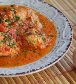 Chakhokhbili – Chicken in tomato sauce