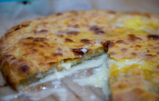 Khachapuri - cheese pie by Barbare Jorjadze