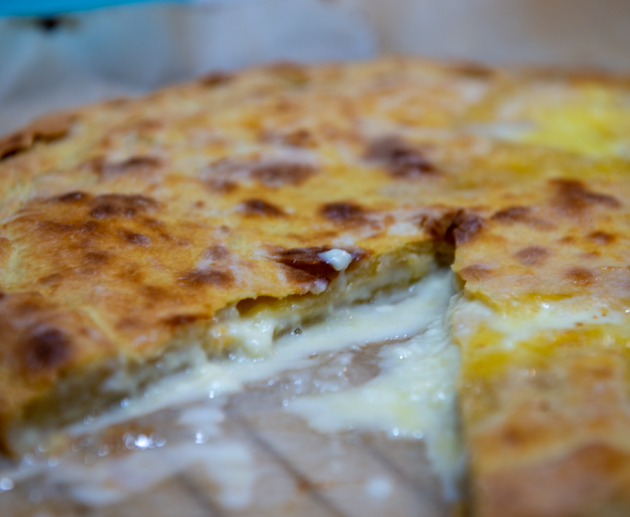 Khachapuri - cheese pie by Barbare Jorjadze