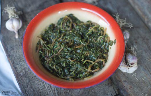 Wild Purslane Salad - Danduri